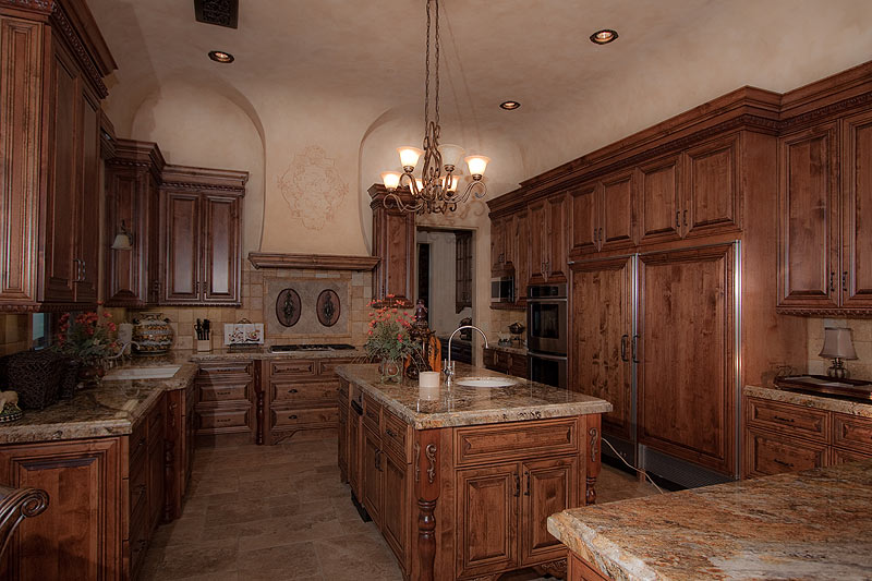Tuscan Faux Finish Kitchen
