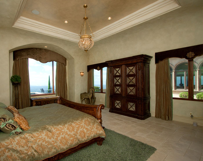 Custom Interior Faux Finishes in Master Bedroom