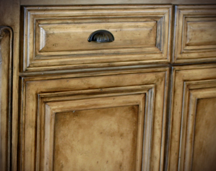 Superieur Close Up Island Cabinetry Finish.