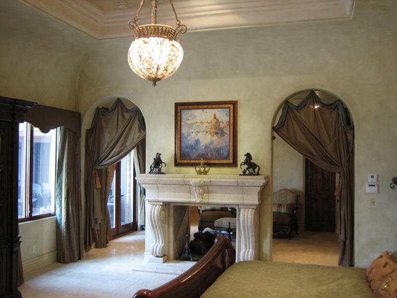 Master Bedroom Mediterranean Faux Finish