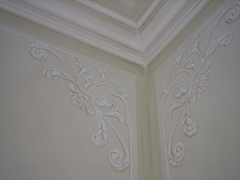 Hand Painted Artwork and Faux Finish