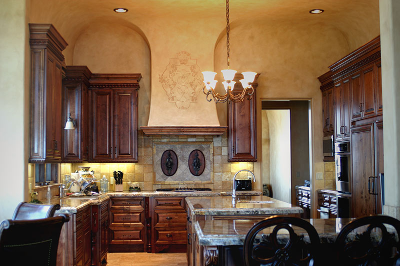 Kitchen Hood Custom Design and Faux