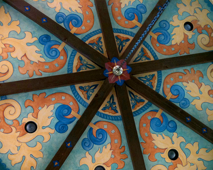 Custom Entry Ceiling Design