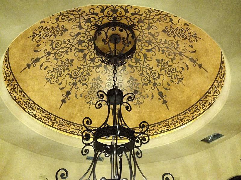 Custom Stencil Dome