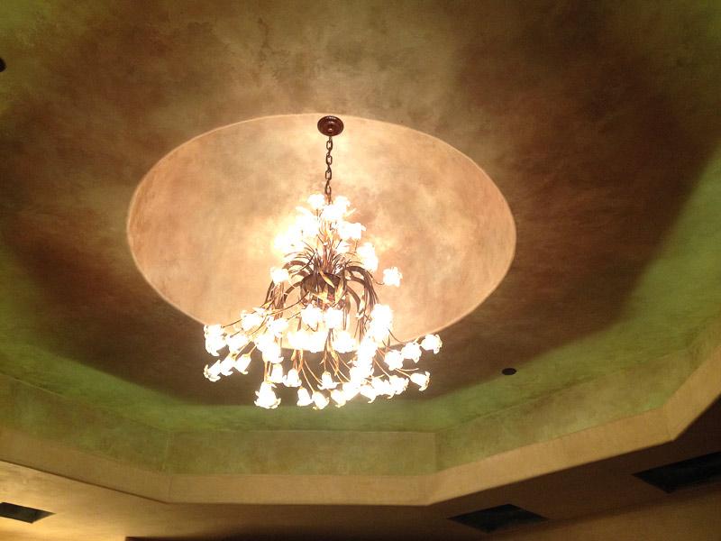 Silk Stone Metallic Plaster Dome