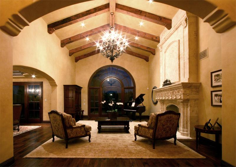 Faux Glaze Living Room